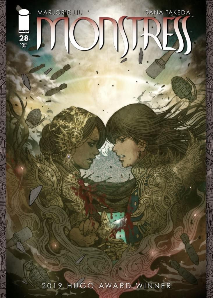 Monstress Cover