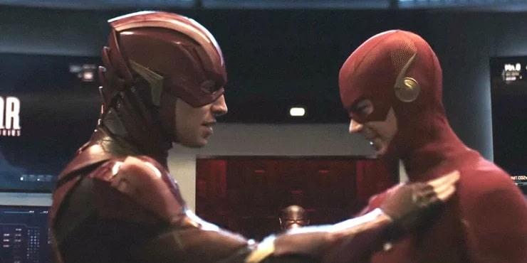 Ezra Miller The Flash Crisis on Infinite Earths