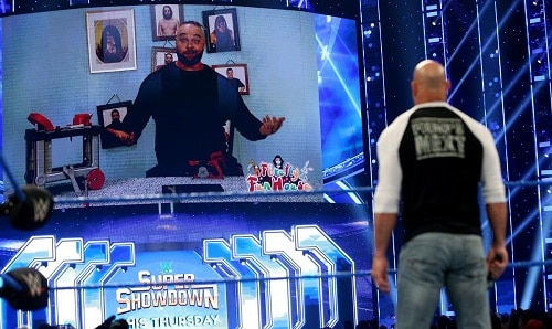 WWE Bray Wyatt and Goldberg