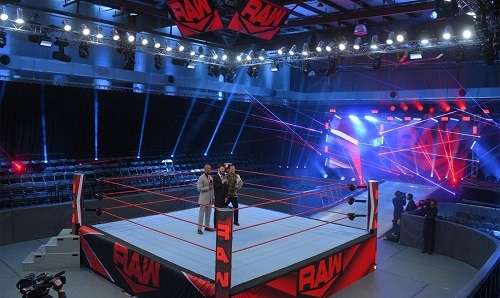 WWE Raw At Performance Center