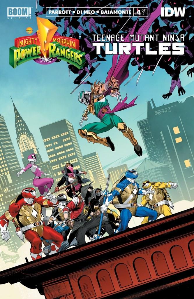 Mighty Morphin' Power Rangers/TMNT #4
