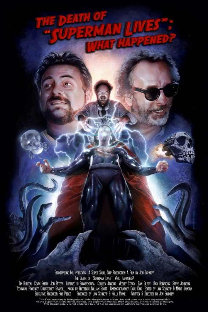 The Death of Superman Lives What Happened? Poster Nicolas Cage