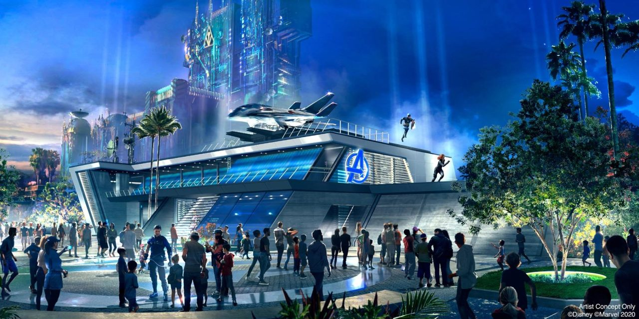 Avengers Campus Targets July 2020 Opening In The Magic Kingdom