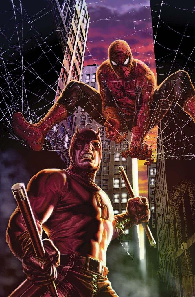 daredevil spider-man marvel comics