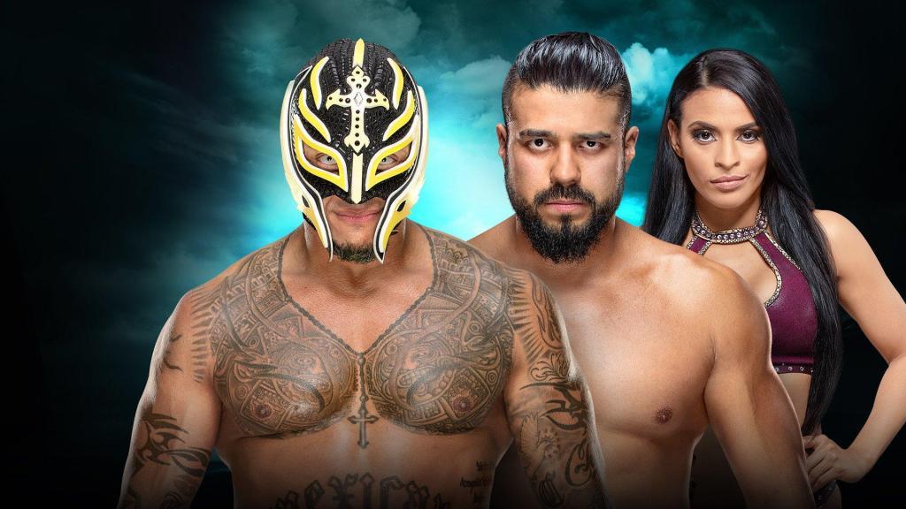 Andrade vs. Rey Mysterio