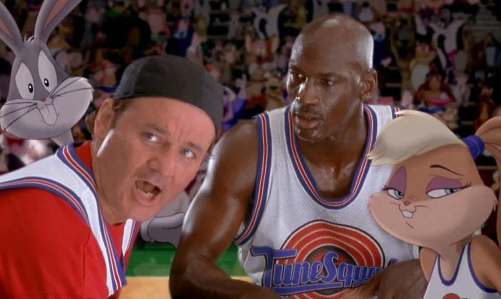 Space Jam Bill Murray Michael Jordan