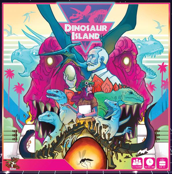 Review: Dinosaur Island the board game roars with fun - The Illuminerdi