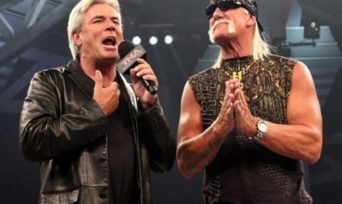 Eric Bischoff and Hulk Hogan
