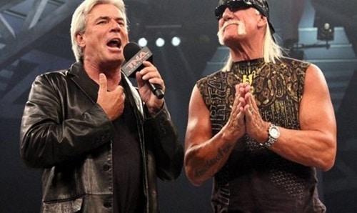Eric Bischoff and Hulk Hogan