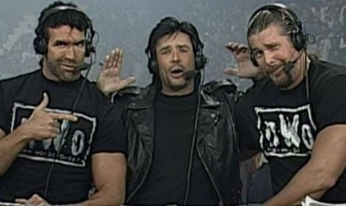 Scott Hall, Eric Bischoff, Kevin Nash not AEW