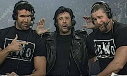 Scott Hall, Eric Bischoff, Kevin Nash not AEW