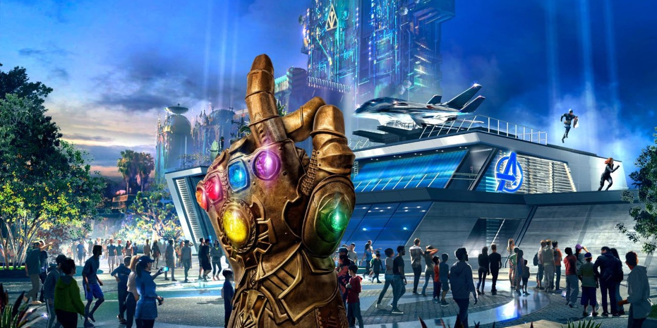 At Disneyland's Avengers Campus…The Thanos Snap Never Happened