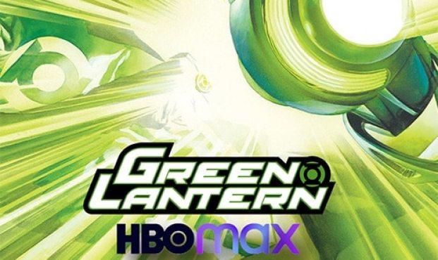 green lantern - hbo max logo