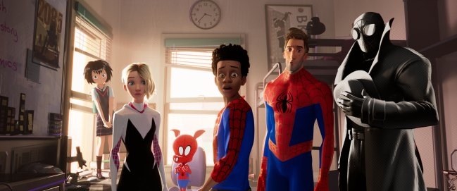 sony pictures - into the spiderverse