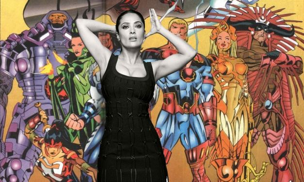 Salma Hayek Shares Her Excitement At Playing A Superhero In The Eternals