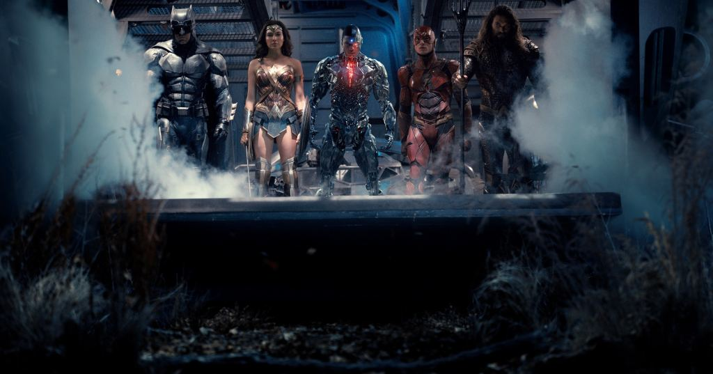 Justice League Snyder Cut Money Shot Ben Affleck Gal Gadot Ray Fisher Ezra Miller Jason Momoa