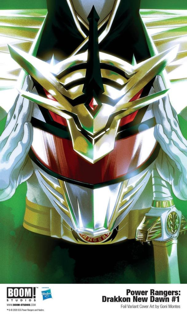 Power Rangers Drakkon New Dawn Cover