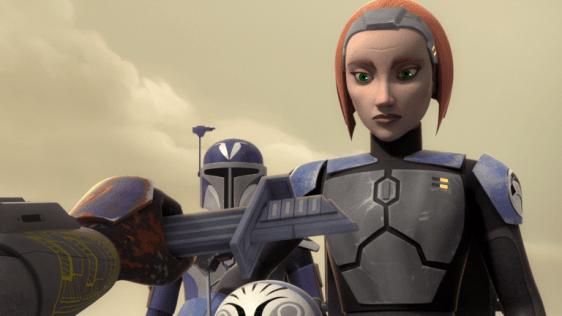 star wars clone wars - katee sackhoff as bo katan
