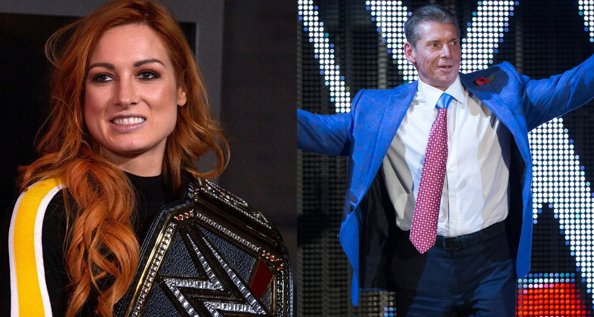 Vince McMahon Breaks Silence on Becky Lynch's Pregnancy Reveal