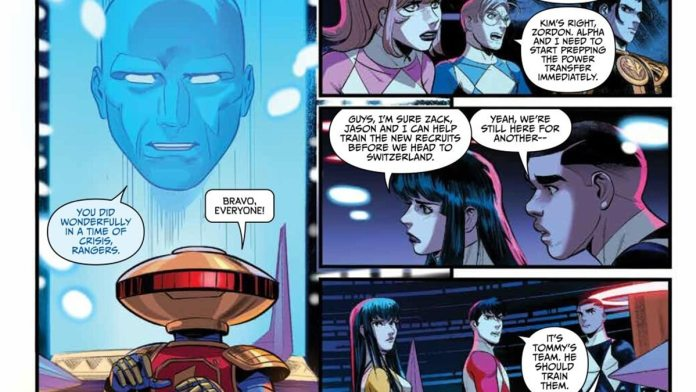 go go power rangers 32 preview