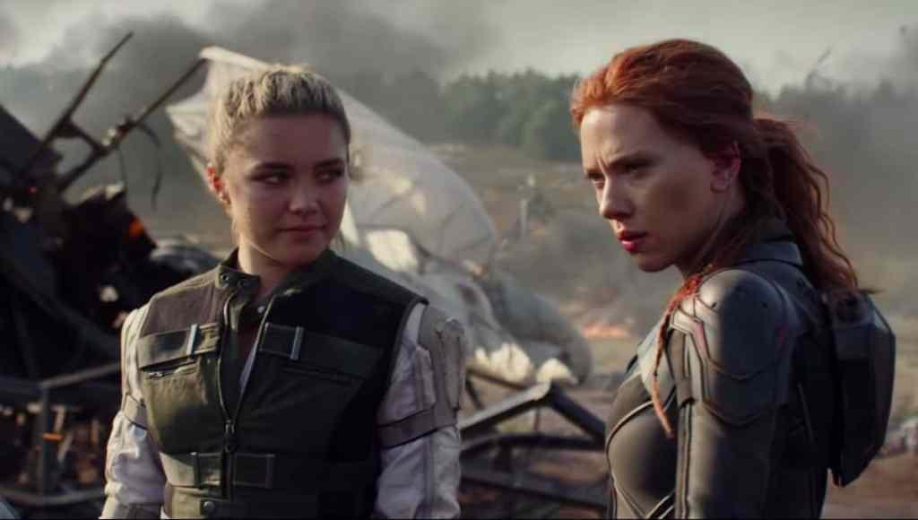 Black Widow Florence Pugh Scarlett Johansson