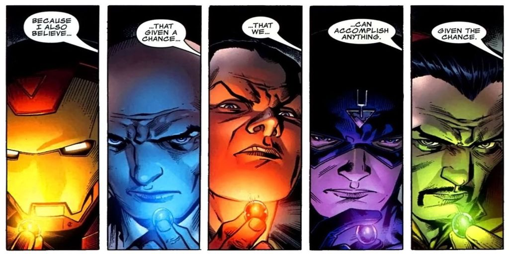 Marvel Comics Illuminati Still