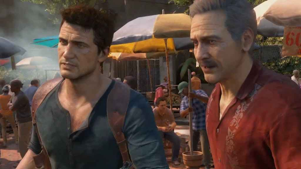 Uncharted 4 Drake and Sully