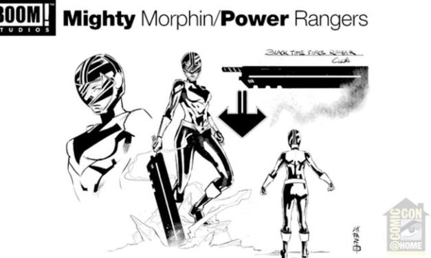 Power Rangers Reveals Time Force Black Ranger And More At Comic-Con At Home Panel