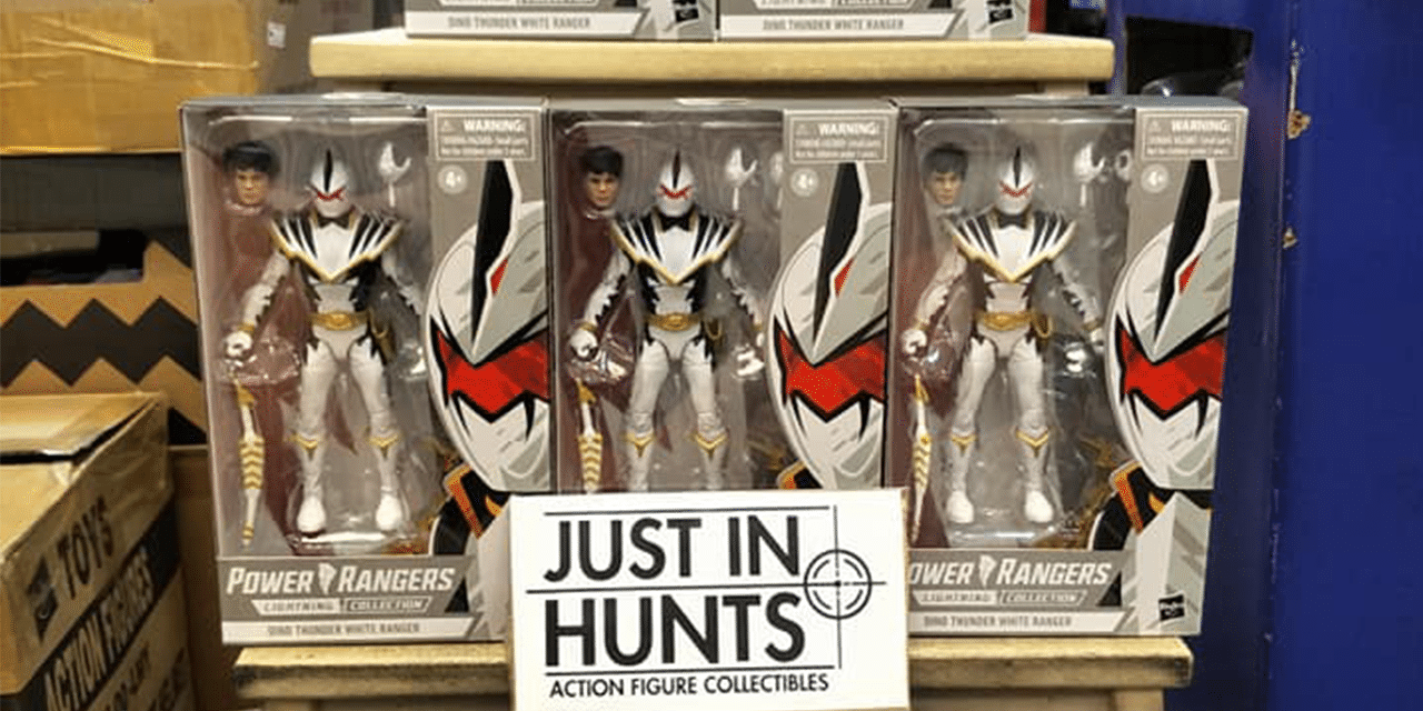 Power Rangers Lightning Collection White Dino Thunder Ranger Leaked