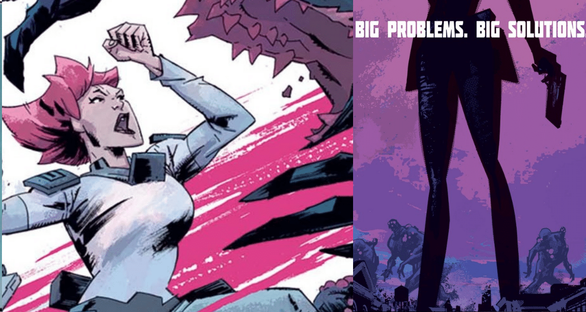 BIG GIRLS #1 REVIEW: The Beginning OF A FASCINATING New KAIJU Story