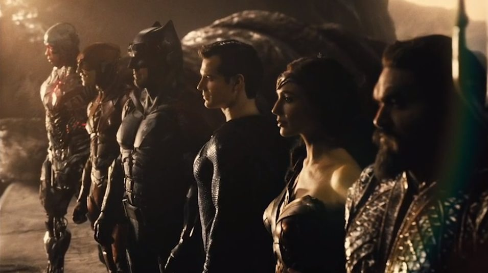 Justice League Snyder Cut Full Squad