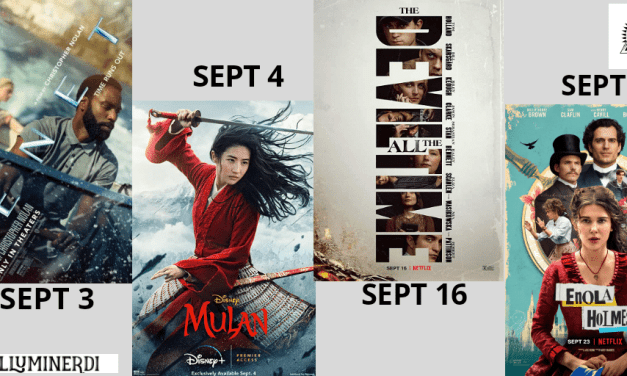 New September Movies In 2020 You Don't Want To Miss