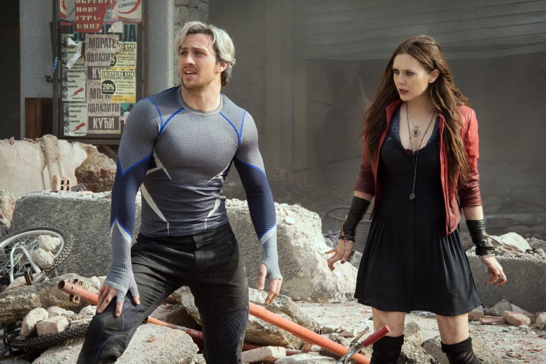 Wanda and Quicksilver Avengers: Age of Ultron Wandavision