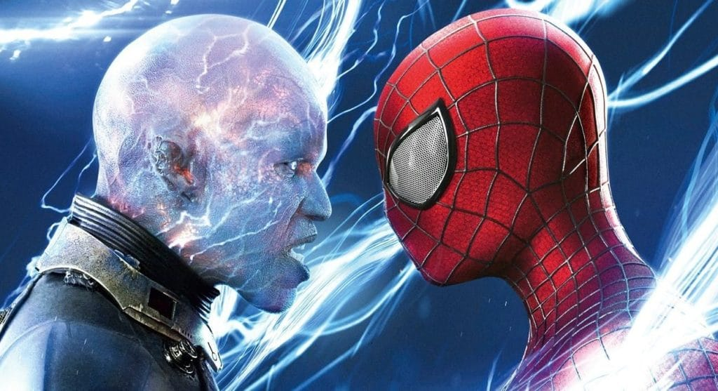 Electro Jamie Foxx Amazing Spider-Man 2 JB Smoove