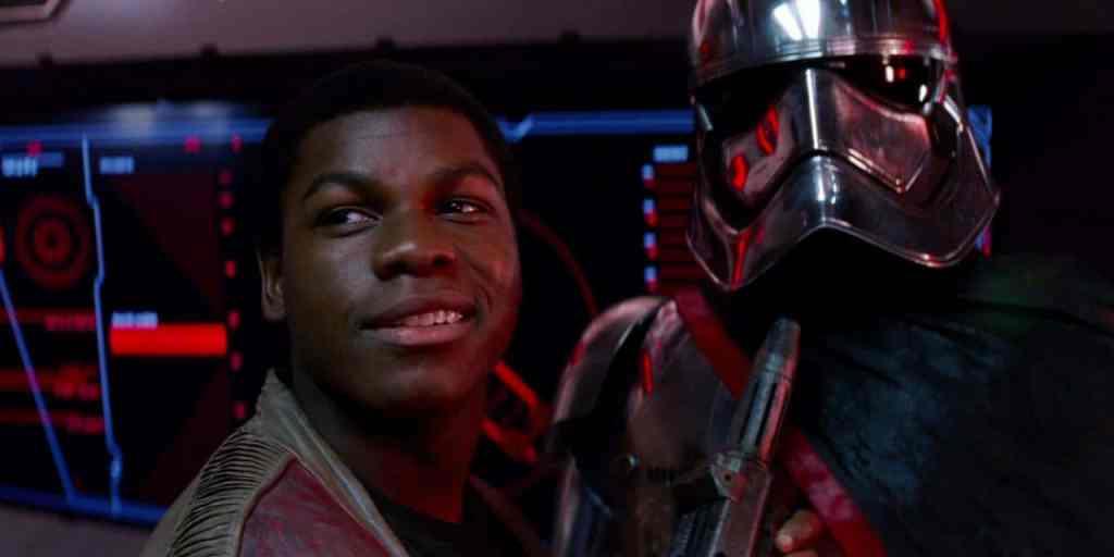 Finn Phasma Star Wars The Phantom Menace John Boyega
