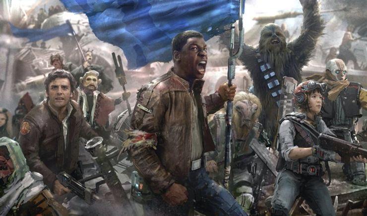 Finn Concept Art Star Wars Episode 9 John Boyega