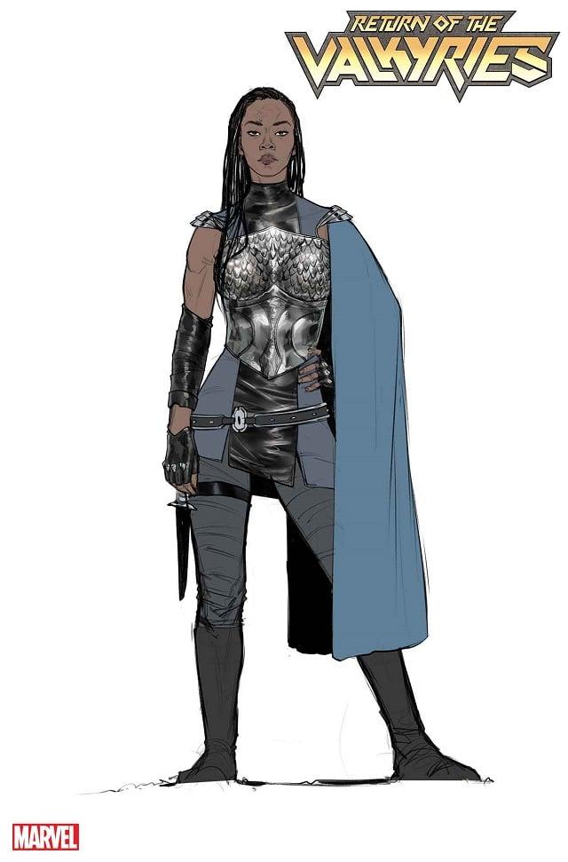 Valkyrie Marvel Comics Concept Art Armor