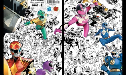 Power Rangers #1 The Comic Bug Exclusive Variant Cover Revealed