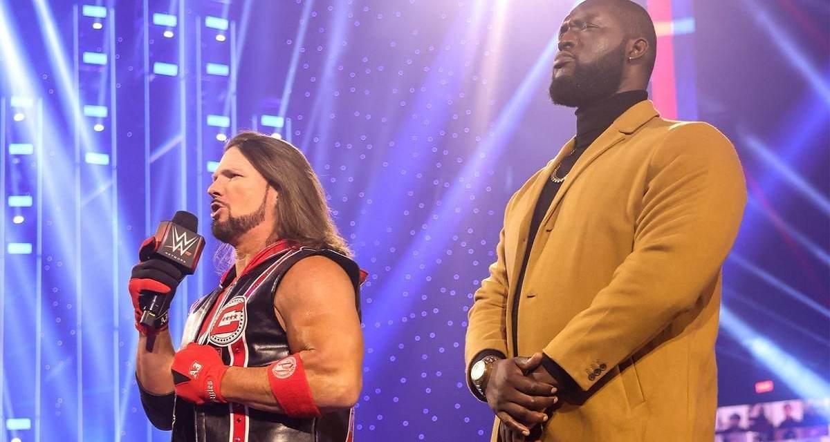 Omos Is Here: AJ Styles' Gigantic Associate's Name Is Finally Revealed