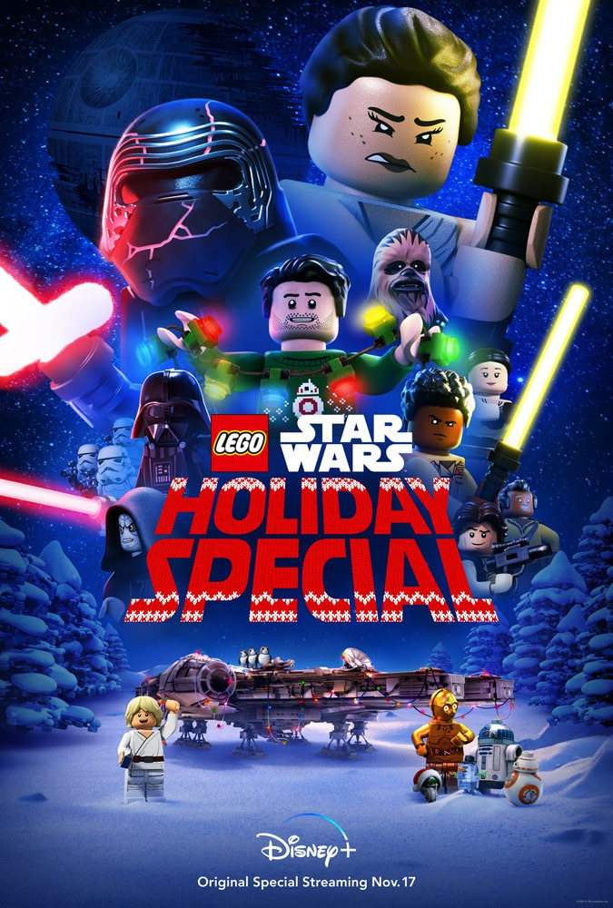lego star wars holiday special trailer poster