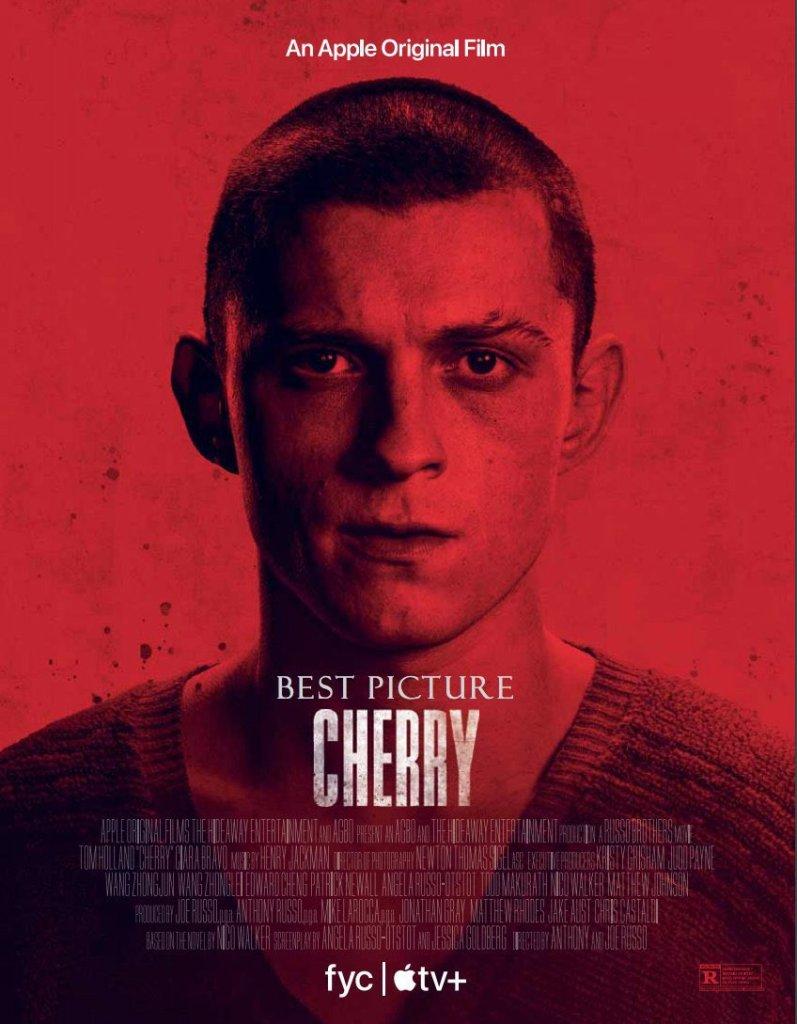 cherry - tom holland poster