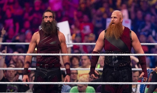 WWE Luke Harper and Erick Rowan