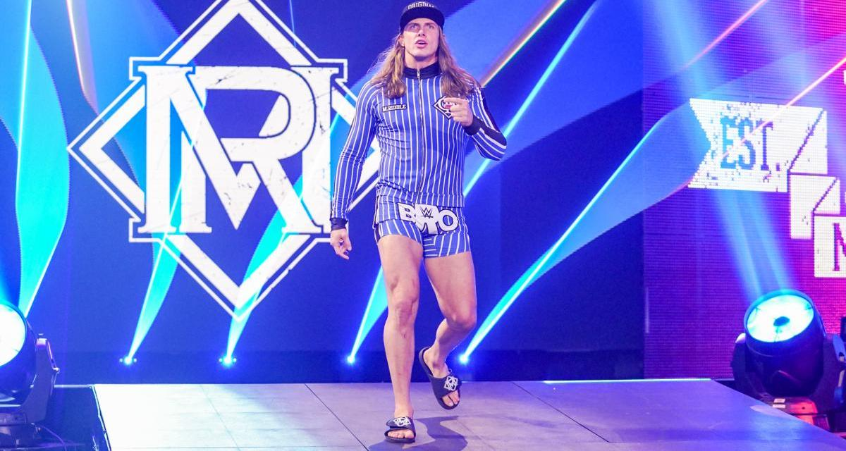 Riddle Re-Signs With WWE After Tough Negotiations