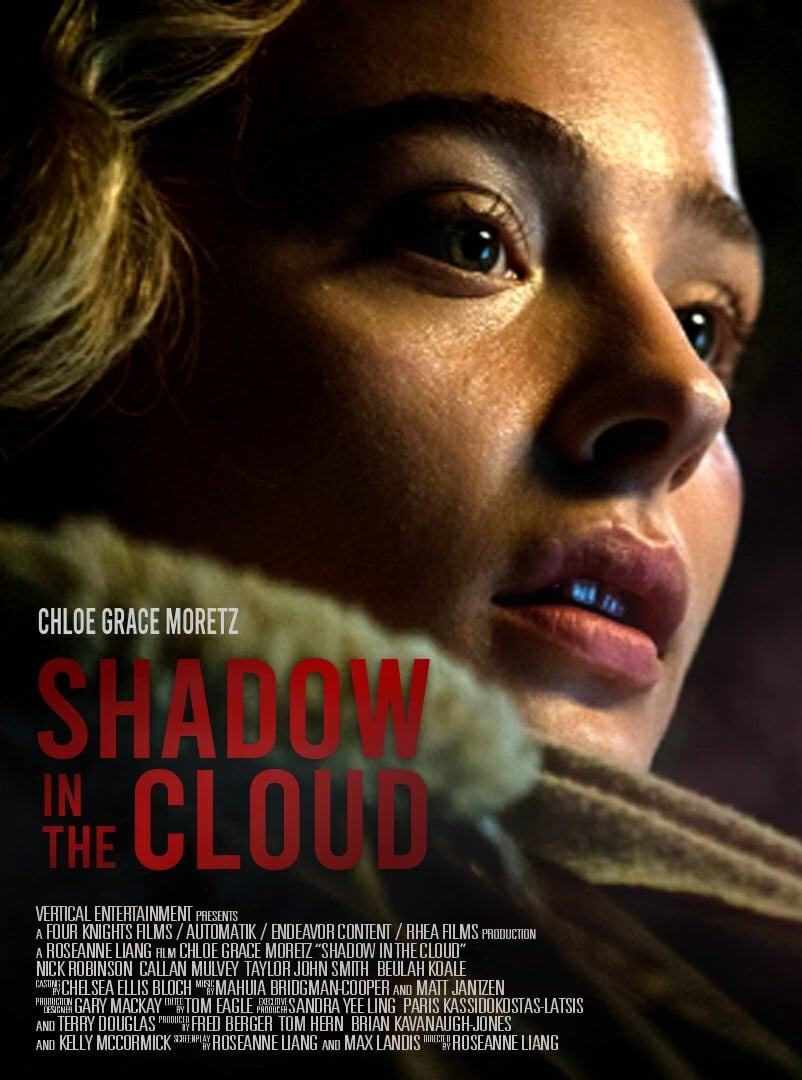 Shadow in the Cloud poster Chloe Grace Moretz