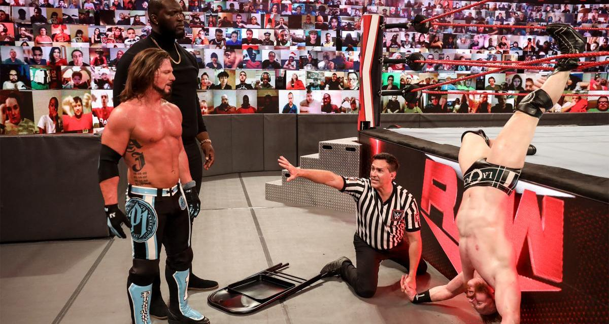 A Surprise Debut For Omos Is Teased By AJ Styles At Royal Rumble