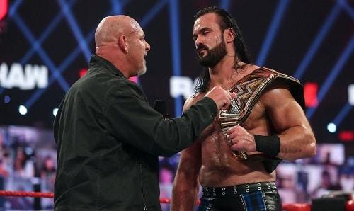WWE Goldberg And Drew McIntyre