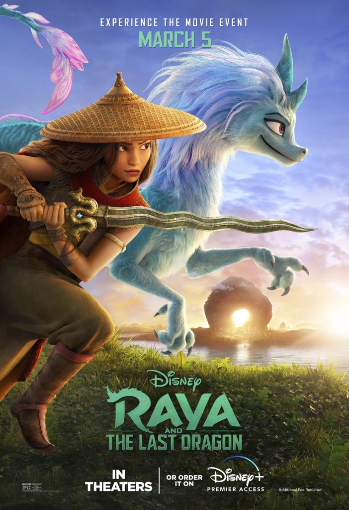 Raya and the Last Dragon poster D23