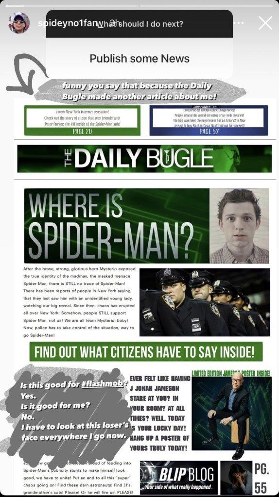 Spider-Man 3: Sony Seemingly Gives A Hobgoblin Tease And New Look At JJJ Ahead of Tomorrow's Big Reveal - The Illuminerdi