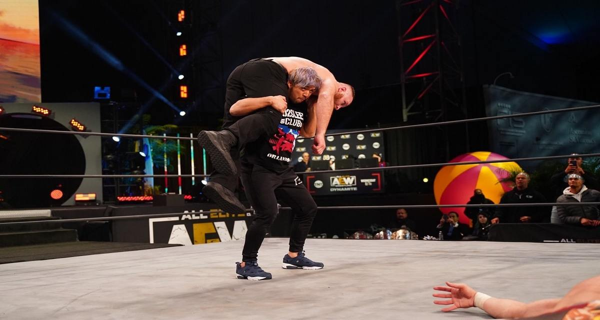 Kenny Omega Extends An Invitation To Tag With KENTA