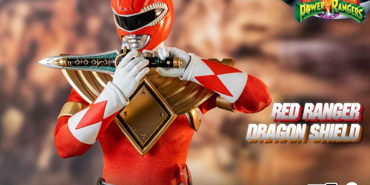 Three Zero Announces Mighty Morphin Power Rangers Red Ranger Dragon Shield Figure